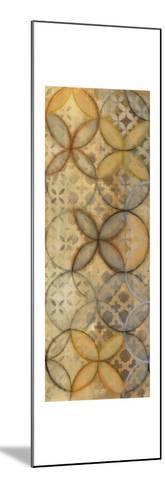 Pattern Sonata Panel III-Jeni Lee-Mounted Art Print