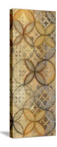 Pattern Sonata Panel III-Jeni Lee-Stretched Canvas Print