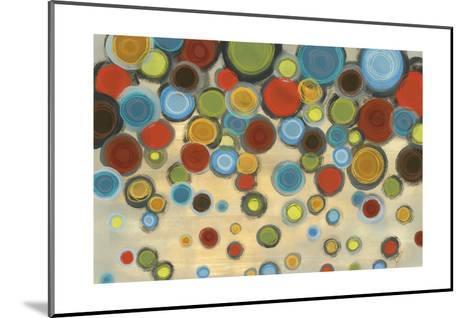 Retro Circles-Jeni Lee-Mounted Art Print