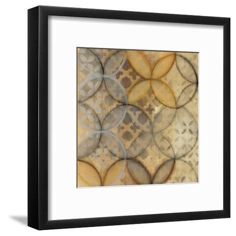 Pattern Sonata Sq III-Jeni Lee-Framed Art Print
