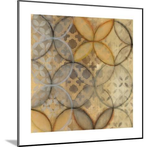 Pattern Sonata Sq III-Jeni Lee-Mounted Art Print