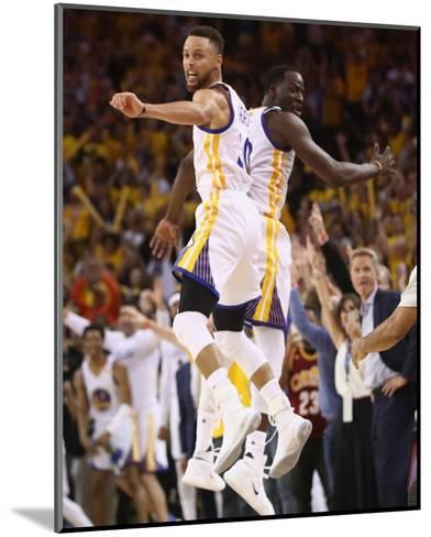 2017 NBA Finals - Game Five-Ezra Shaw-Mounted Photo