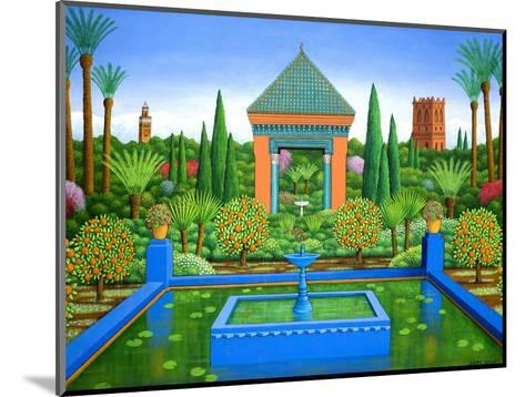 Marjorelle Oranges, 2005-Larry Smart-Mounted Giclee Print