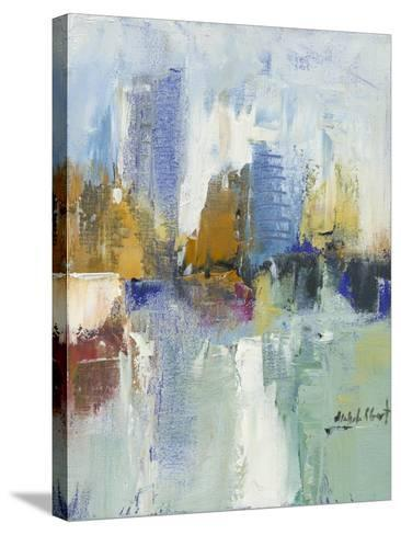 City Reflection I-Michele Gort-Stretched Canvas Print