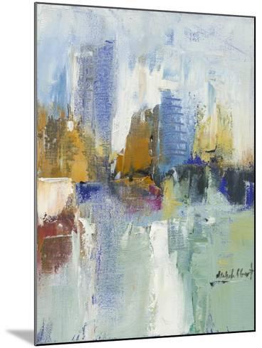 City Reflection I-Michele Gort-Mounted Art Print