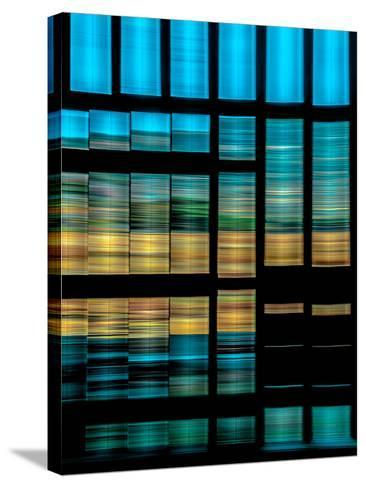 Slatted Barn Kinetic-Steven Maxx-Stretched Canvas Print