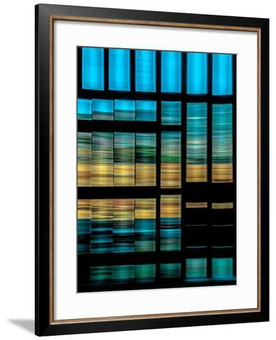 Slatted Barn Kinetic-Steven Maxx-Framed Art Print