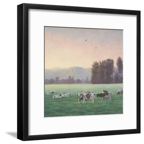 Farm Life V-James Wiens-Framed Art Print