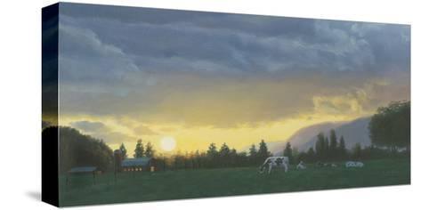 Farm Life II-James Wiens-Stretched Canvas Print
