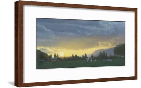Farm Life II-James Wiens-Framed Art Print