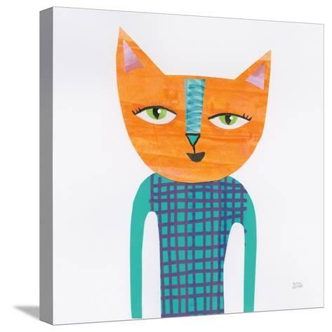 Cool Cats II-Melissa Averinos-Stretched Canvas Print