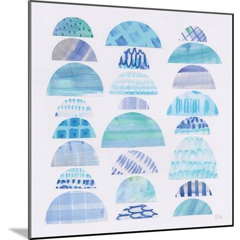 Half Moon Abstract III-Melissa Averinos-Mounted Art Print