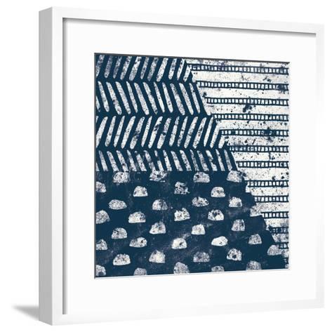 Mark Making Tile I-Moira Hershey-Framed Art Print