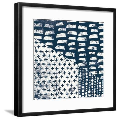 Mark Making Tile II-Moira Hershey-Framed Art Print