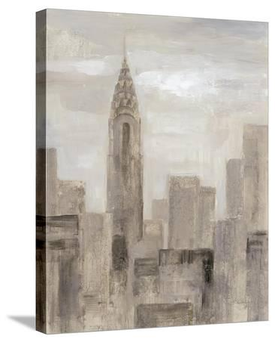 City Blocks I Greige-Silvia Vassileva-Stretched Canvas Print