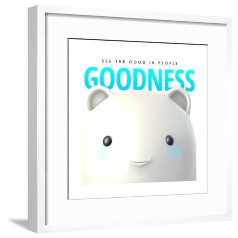 Goodness Do Good--Framed Art Print