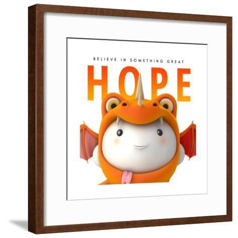 Hope Do Good--Framed Art Print