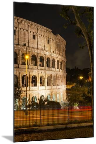 Dolce Vita Rome Collection - The Colosseum Orange Night II-Philippe Hugonnard-Mounted Photographic Print