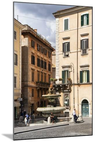 Dolce Vita Rome Collection - Fountain in Rome-Philippe Hugonnard-Mounted Photographic Print