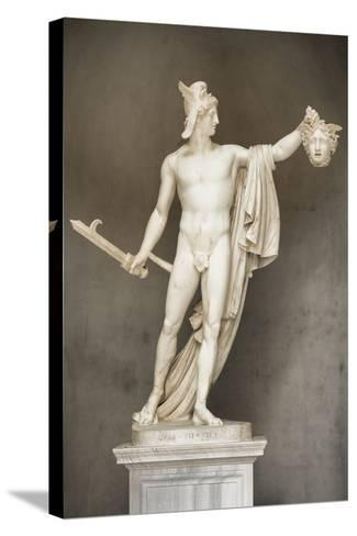 Dolce Vita Rome Collection - Ancient Roman Statue-Philippe Hugonnard-Stretched Canvas Print