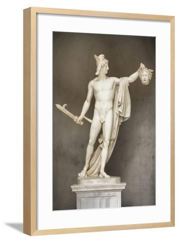 Dolce Vita Rome Collection - Ancient Roman Statue-Philippe Hugonnard-Framed Art Print
