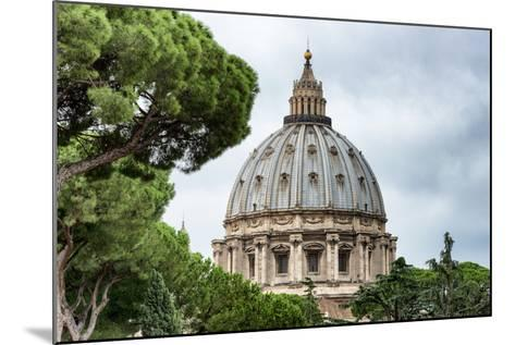 Dolce Vita Rome Collection - St Pierre de Rome Basilica-Philippe Hugonnard-Mounted Photographic Print