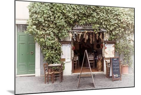 Dolce Vita Rome Collection - Trattoria II-Philippe Hugonnard-Mounted Photographic Print