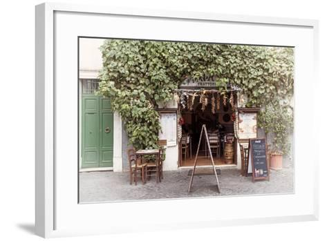 Dolce Vita Rome Collection - Trattoria II-Philippe Hugonnard-Framed Art Print