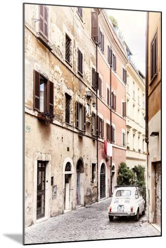 Dolce Vita Rome Collection - Fiat 500 in Rome-Philippe Hugonnard-Mounted Photographic Print