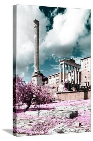Dolce Vita Rome Collection - Antique Ruins Rome II-Philippe Hugonnard-Stretched Canvas Print