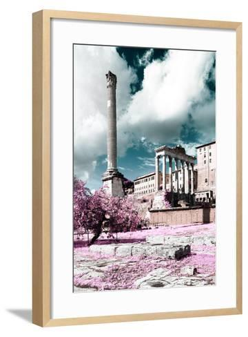 Dolce Vita Rome Collection - Antique Ruins Rome II-Philippe Hugonnard-Framed Art Print