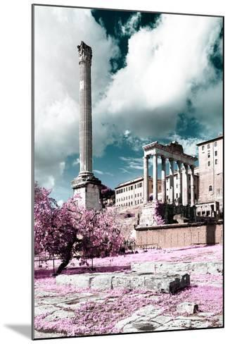 Dolce Vita Rome Collection - Antique Ruins Rome II-Philippe Hugonnard-Mounted Photographic Print