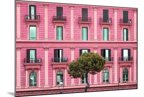 Dolce Vita Rome Collection - Pink Building Facade-Philippe Hugonnard-Mounted Photographic Print