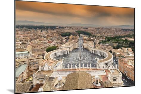 Dolce Vita Rome Collection - The Vatican City at Sunset-Philippe Hugonnard-Mounted Photographic Print