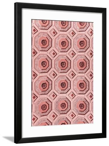 Dolce Vita Rome Collection - Vatican Red Mosaic-Philippe Hugonnard-Framed Art Print