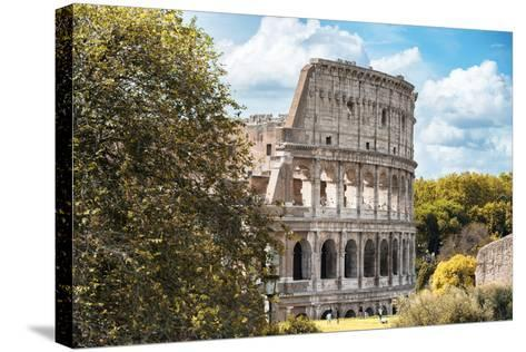 Dolce Vita Rome Collection - Colosseum XV-Philippe Hugonnard-Stretched Canvas Print