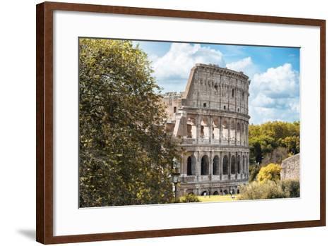 Dolce Vita Rome Collection - Colosseum XV-Philippe Hugonnard-Framed Art Print