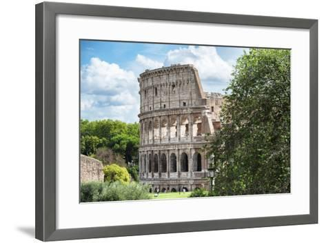 Dolce Vita Rome Collection - Colosseum XIV-Philippe Hugonnard-Framed Art Print