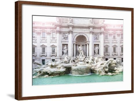 Dolce Vita Rome Collection - Trevi Fountain-Philippe Hugonnard-Framed Art Print