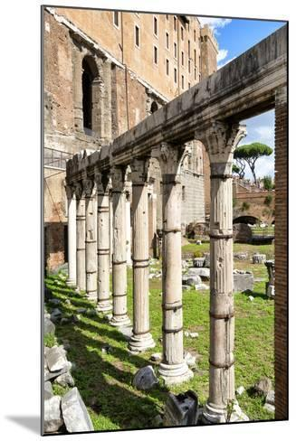 Dolce Vita Rome Collection - Architecture Columns-Philippe Hugonnard-Mounted Photographic Print