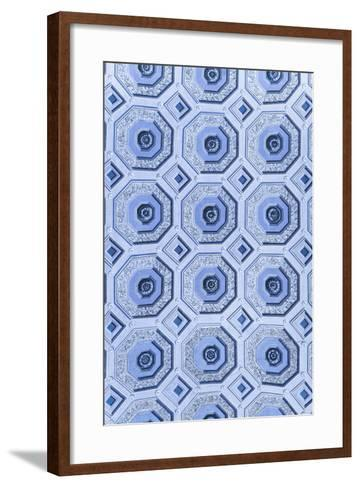 Dolce Vita Rome Collection - Vatican Blue Mosaic-Philippe Hugonnard-Framed Art Print