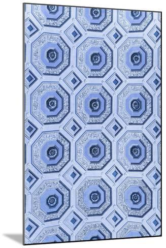Dolce Vita Rome Collection - Vatican Blue Mosaic-Philippe Hugonnard-Mounted Photographic Print
