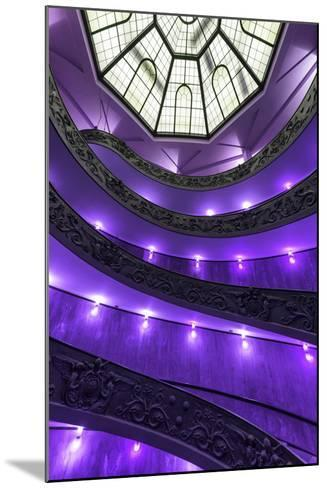 Dolce Vita Rome Collection - Purple Vatican Staircase-Philippe Hugonnard-Mounted Photographic Print