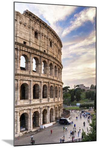 Dolce Vita Rome Collection - Colosseum at Sunset IV-Philippe Hugonnard-Mounted Photographic Print
