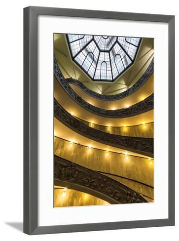 Dolce Vita Rome Collection - Vatican Staircase-Philippe Hugonnard-Framed Art Print