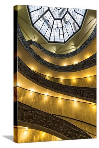Dolce Vita Rome Collection - Vatican Staircase-Philippe Hugonnard-Stretched Canvas Print