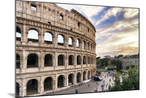 Dolce Vita Rome Collection - Colosseum at Sunset III-Philippe Hugonnard-Mounted Photographic Print