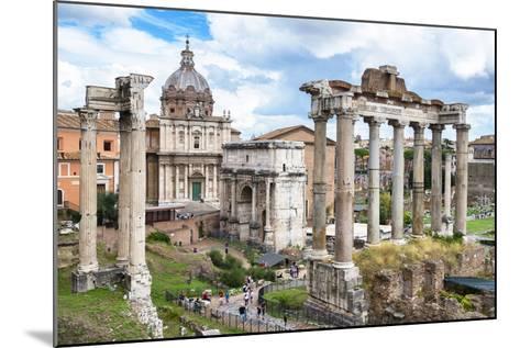 Dolce Vita Rome Collection - Roman Columns Rome II-Philippe Hugonnard-Mounted Photographic Print
