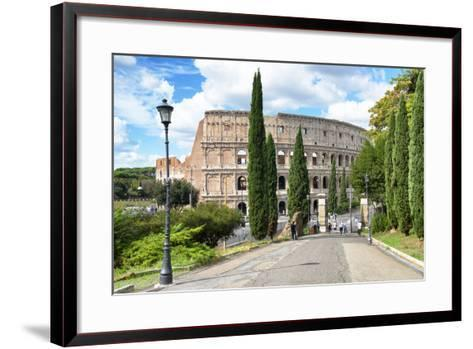 Dolce Vita Rome Collection - The Colosseum Rome-Philippe Hugonnard-Framed Art Print