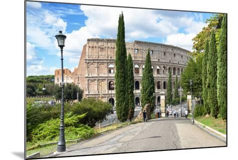 Dolce Vita Rome Collection - The Colosseum Rome-Philippe Hugonnard-Mounted Photographic Print